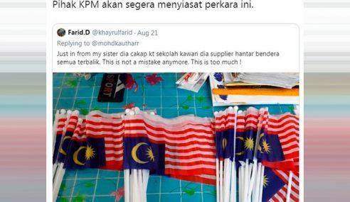 KPM Akan Siasat Pembekal Jalur Gemilang Terbalik