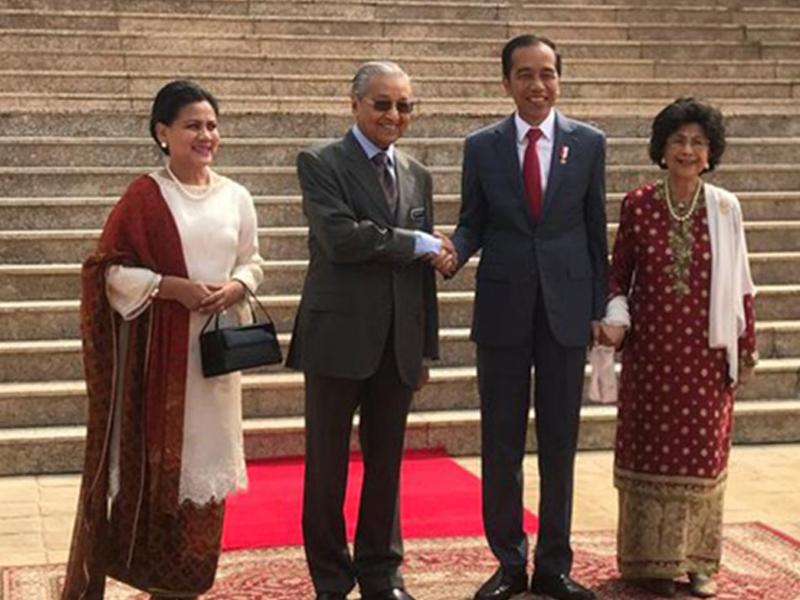 PM Terima Kunjungan Hormat Presiden Indonesia