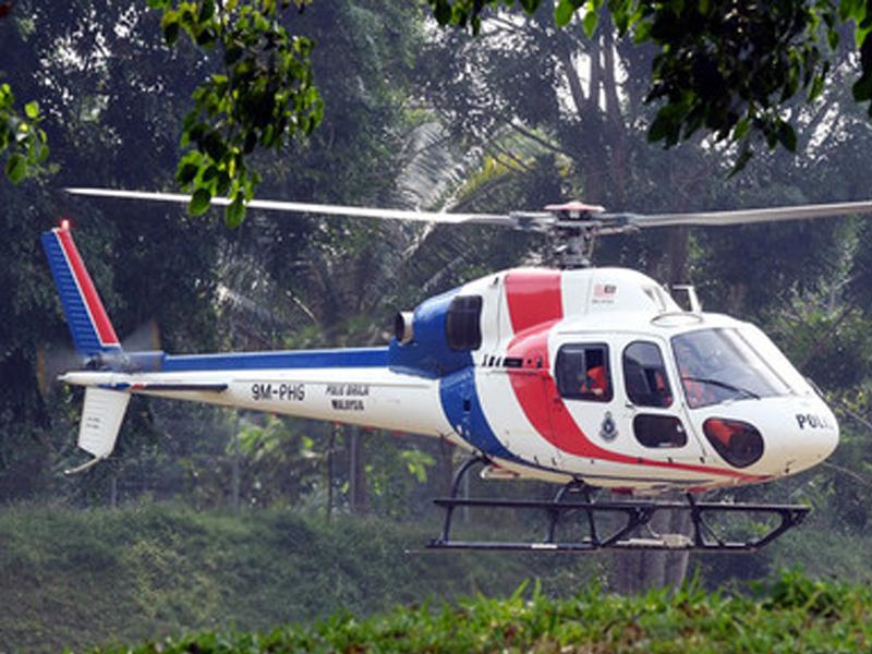 Polis Guna 'Wescam Air Surveillance' Dalam SAR Nora Anne
