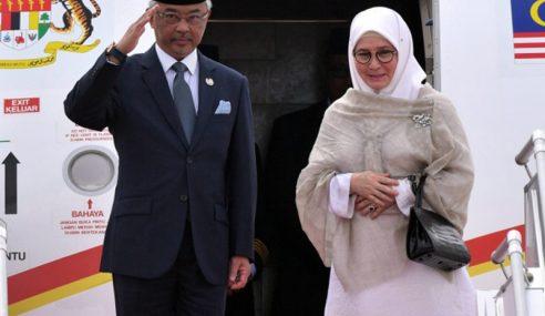 Agong Tiba Di Indonesia Bagi Lawatan Negara 4 Hari