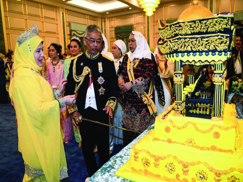 Agong Terima Kejutan Hari Keputeraan Di Istana Negara