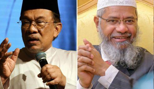 Anwar Tidak Setuju Dengan Cara Zakir Naik
