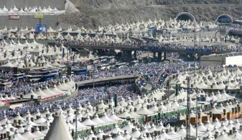 Semua Jemaah Haji Malaysia Tiba Di Arafah Malam Ini