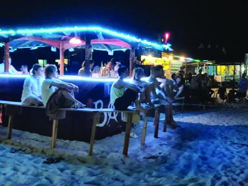 Bar Pulau Perhentian Beroperasi Tanpa Permit Diserbu Polis