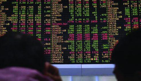 Bursa Malaysia Jatuh Di Bawah 1,600 Mata