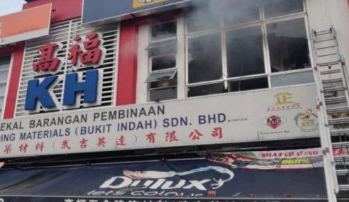 Polis Buru Suspek Kes Khianat Kebakaran Di Bukit Indah