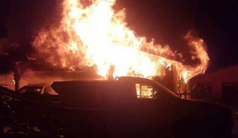 Suami Isteri, Bayi Maut Dalam Kebakaran Rumah