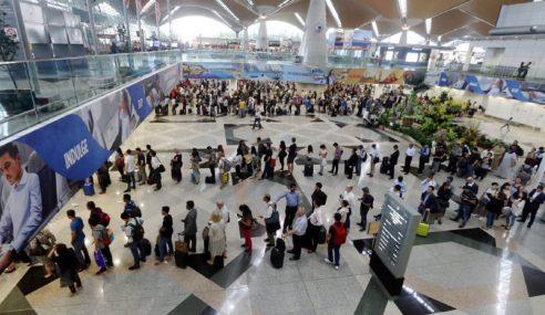 Imigresen Nafi Kemasukan Haram Warga China Masa Gangguan KLIA