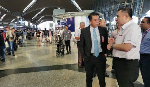 KLIA Berjaya 'Terbangkan' Anthony Loke Ke Pulau Pinang