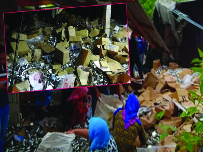 Pemilik Lori Rayu Orang Ramai Pulangkan Susu Diambil