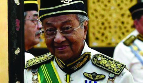 Ubah Kerusi Najib, Itu Kerja Istana Negara – Mahathir