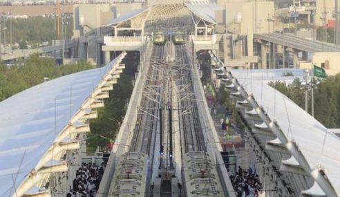 Metro Arab Saudi Bawa 1.087 Juta Jemaah Haji Dalam 45 Jam