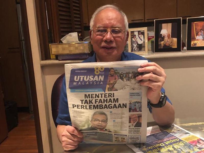 UMNO Akan Bantu Utusan Jika Akaun, Dana Tak Dibeku