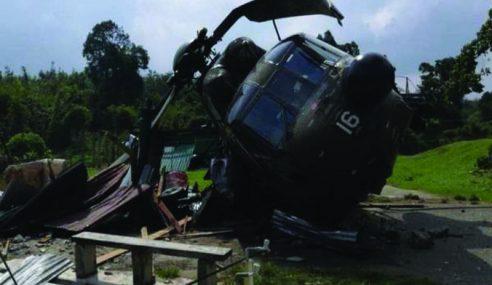 Helikopter Nuri Mendarat Cemas Di Kem Gubir, Kedah