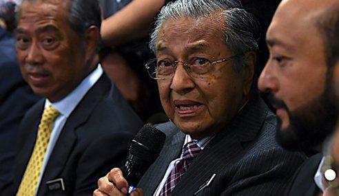 Perkataan Paria Tidak Tujukan Kepada Sesiapa – Mahathir