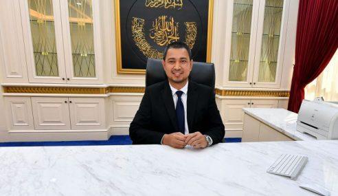 Sahruddin Nafi Lepaskan Jawatan Menteri Besar Johor