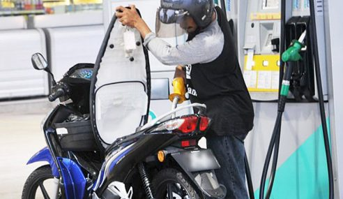 Harga RON95, Diesel Diturunkan Dari Paras Ditetapkan