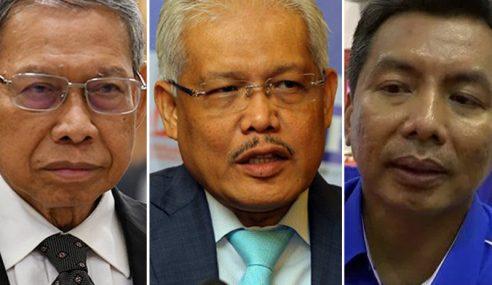 3 Pemimpin UMNO Lompat Parti Disaman