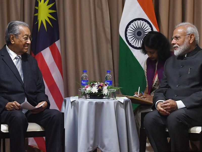 Pertemuan Dengan Modi Tidak Libatkan Isu Zakir – Mahathir