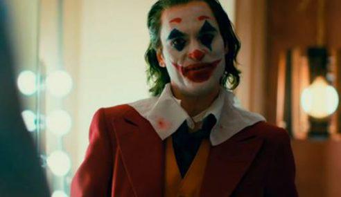 Pawagam Haramkan Topeng Muka Sempena Tayangan 'Joker'