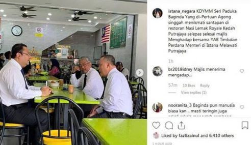 Agong Singgah Restoran, Pesan Teh Tarik