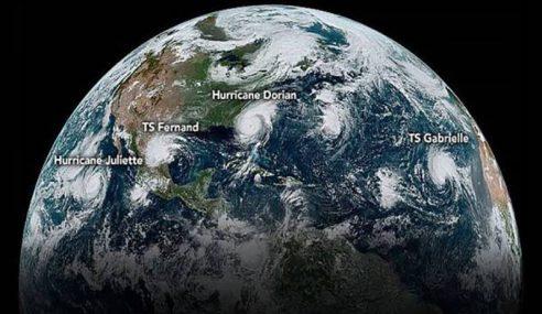 5 Ribut Tropika Melanda Seluruh Dunia