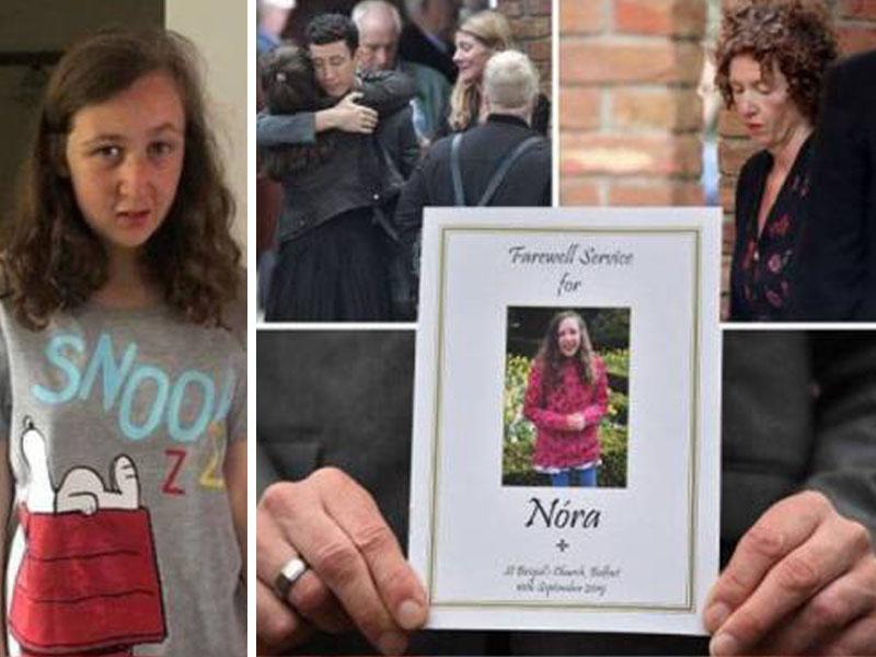 Mayat Nora Anne Selamat Disemadikan Di Belfast