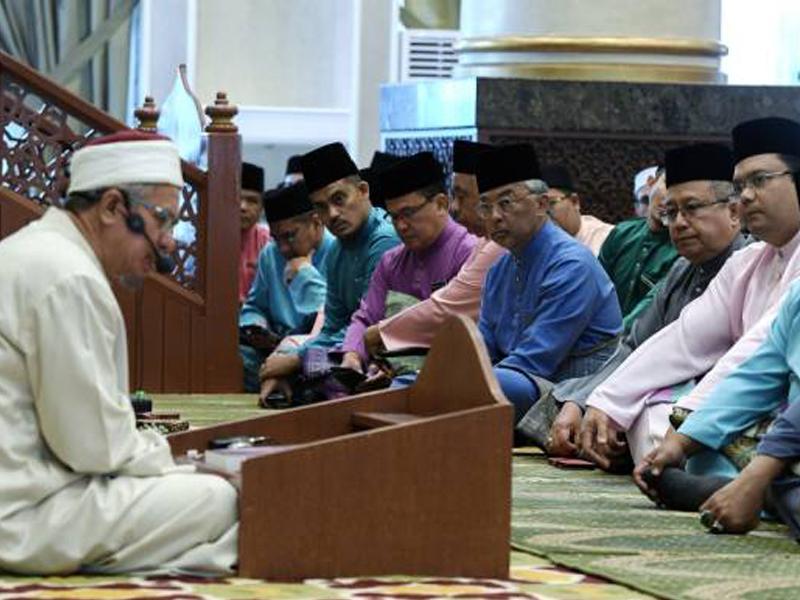Agong, Permaisuri Berkenan Sertai Kuliah Dhuha Perdana