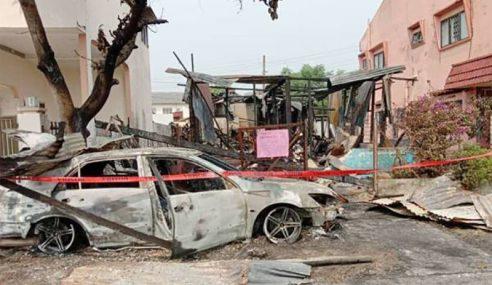 Wanita Maut Disergah, Rumah Pula Terbakar