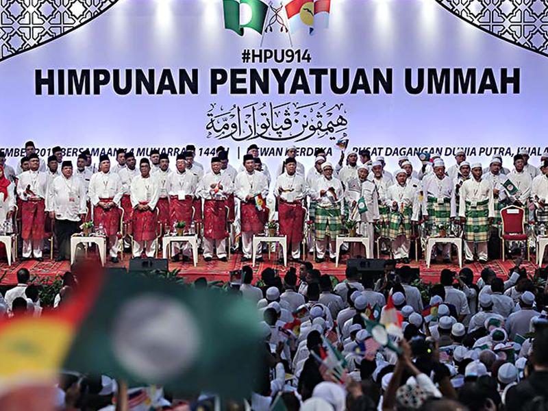 Kerjasama UMNO-PAS Mesti Jangkaui Semua Masyarakat