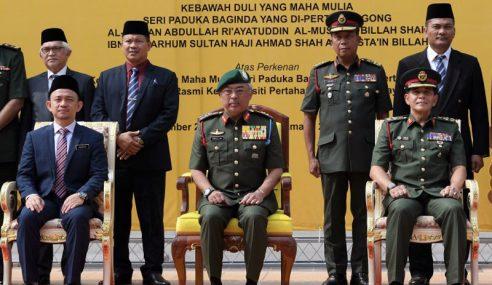 Yang Di-Pertuan Agong Berkenan Melawat UPNM
