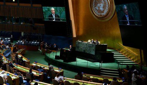 Mahathir Pertahan Minyak Sawit Ketika Berucap Di PBB