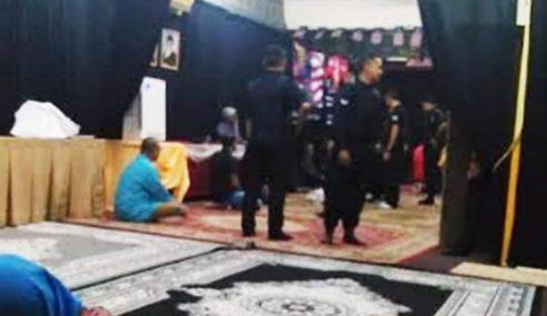Jais Serbu Majlis Syiah Di Gombak, 23 Ditahan