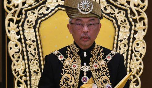 Agong Dahului Penerima Darjah Ulang Tahun Keputeraan Sultan Perak