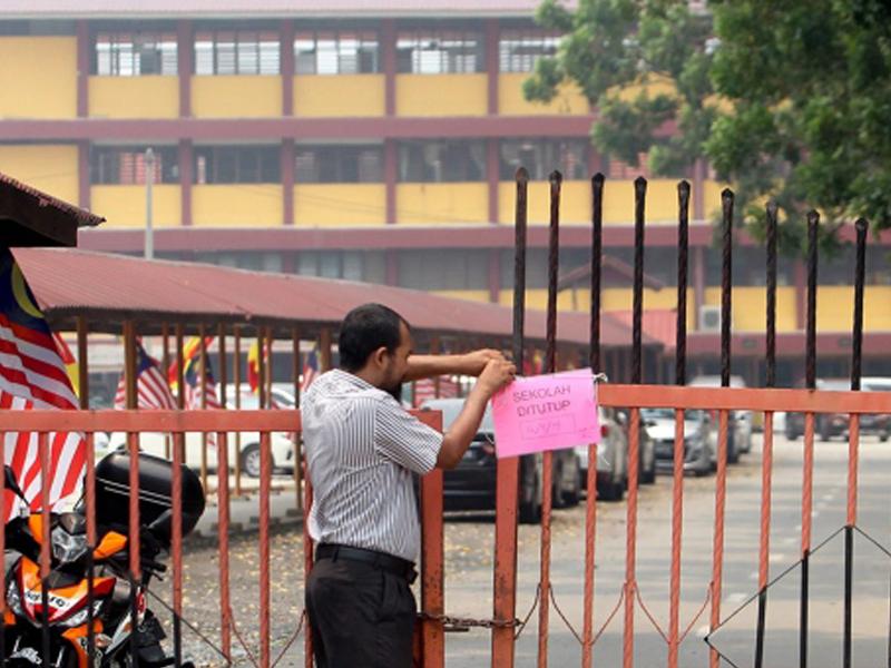 Jerebu: 538 Buah Sekolah Kini Ditutup Di Selangor