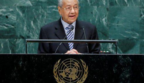 Bersiap Sedia Perubahan Iklim, Bukan Peperangan – Mahathir