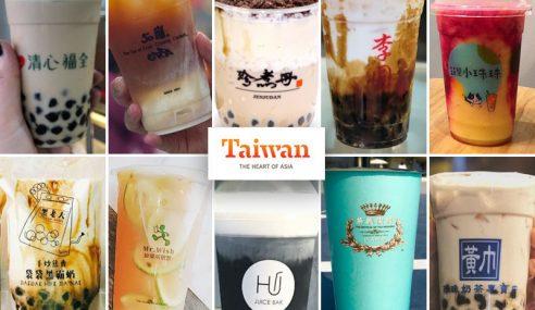 10 Kedai Bubble Tea Mesra Muslim Di Taiwan