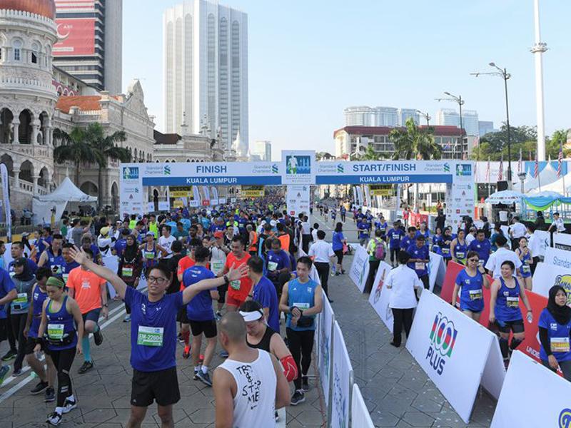 3 Peserta Maraton KL Cedera Dilanggar Lari