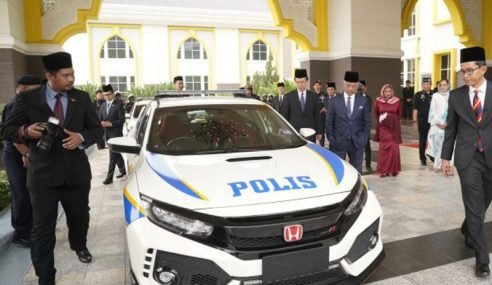Honda Hadiah Civic Type R Kepada Yang Di-Pertuan Agong