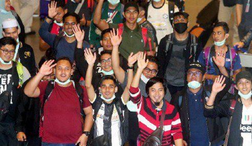 Jerebu: 47 Pelajar Malaysia Di Pekanbaru Selamat Tiba