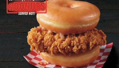 Kombinasi Ayam Goreng Dan Donut Produk Baharu KFC