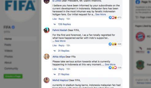 Laman Rasmi FIFA 'Diserang' Netizen