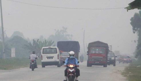 Kualiti Udara Terus Pulih, Johan Setia Kekal IPU Tidak Sihat