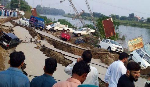 Jumlah Korban Gempa Bumi Pakistan Meningkat 22 Orang