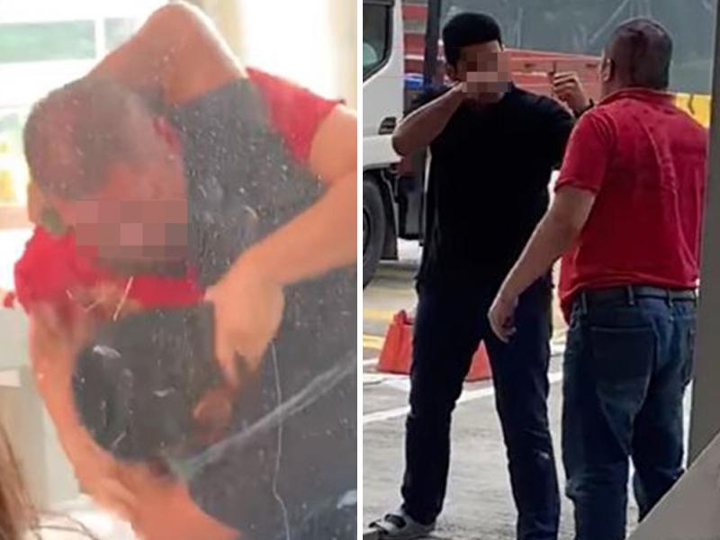 Polis Siasat Insiden Pergaduhan Depan Plaza Tol
