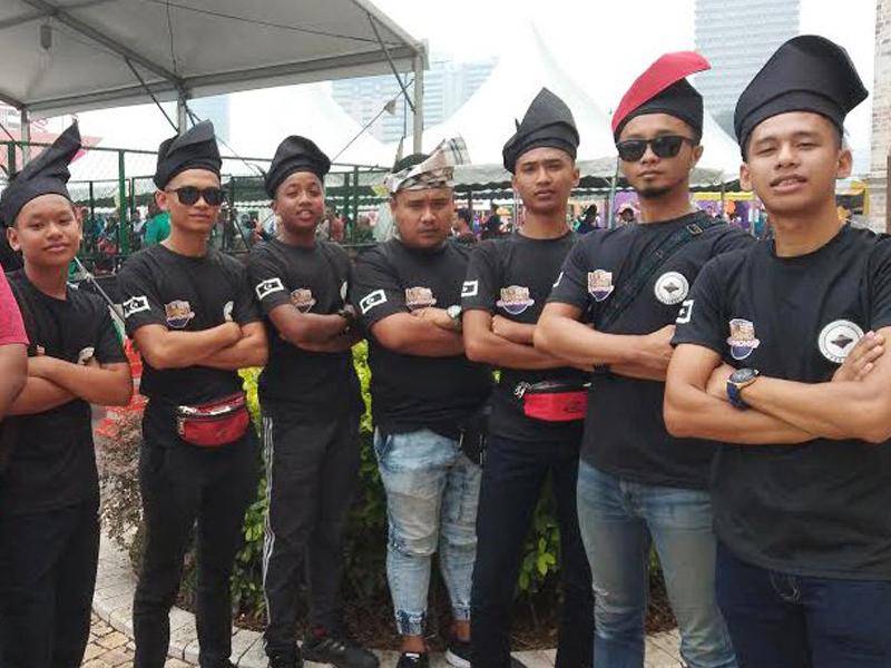 Segak Bertanjak Di Hari Malaysia!
