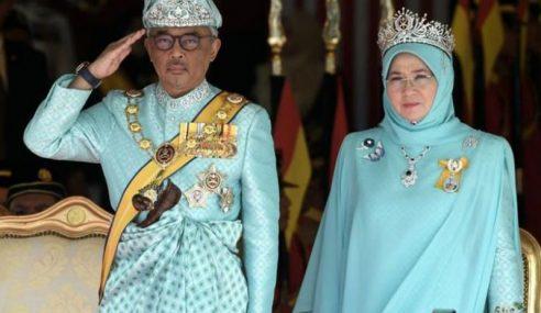 Al-Sultan Abdullah, Tunku Azizah Ucap Takziah