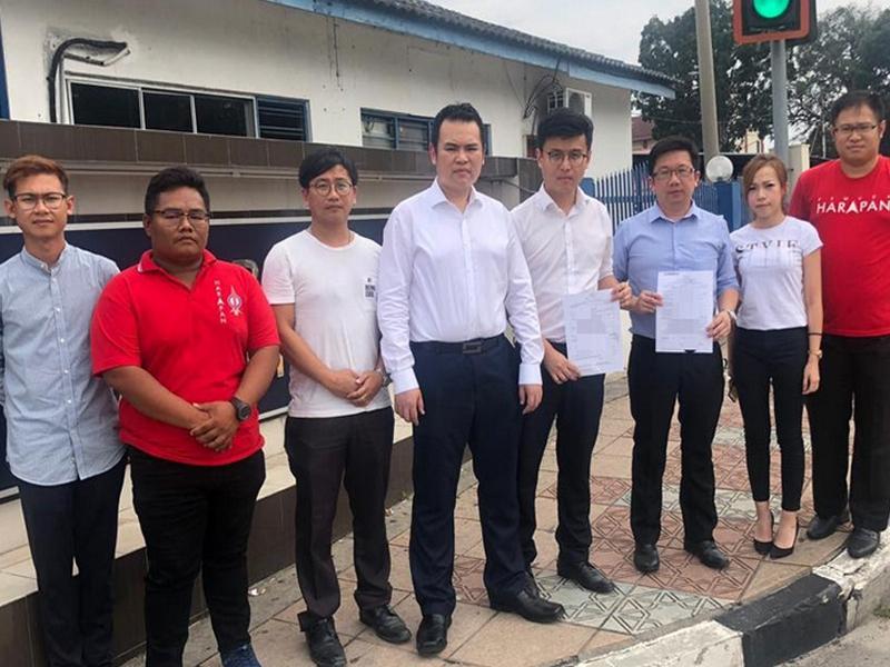 Setiausaha Sulit Kanan Kor Ming Lapor Polis Terhadap Najib