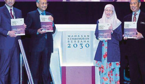 """""""WKB2030 Hadiah Untuk Anak Cucu Kita"""" – Mahathir"""