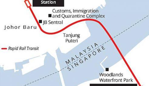 RTS Antara Johor Bahru Dan Singapura Diteruskan